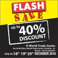 Joy of Gifting - Flash Sale - WTC Branch