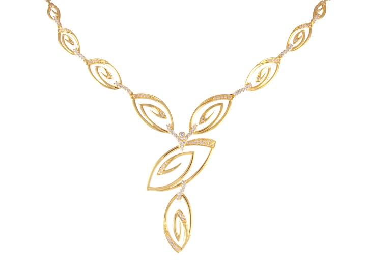 Gold necklace designs catalogue 2018